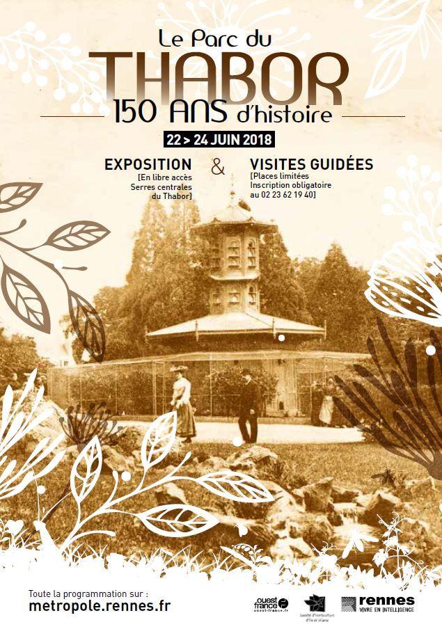 Parc du Thabor : 150 ans d\'histoire à redécouvrir ...