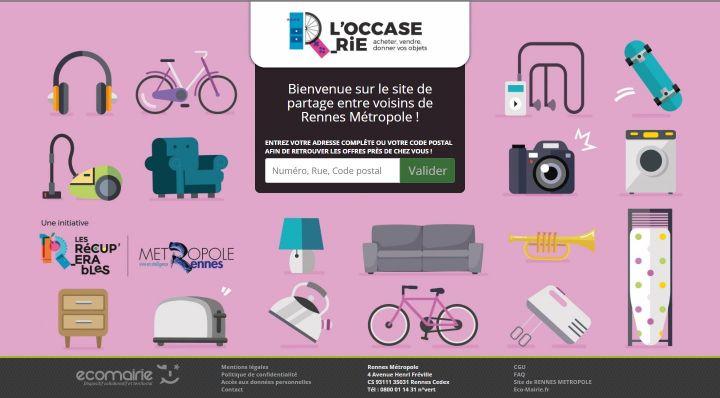 Lancement Du Site De Vente Et De Don Loccaserie Fr Tous Les Documents Service De Presse Rennes Ville Et Metropole